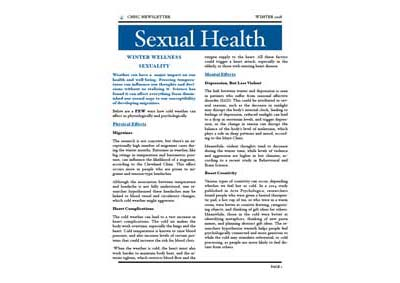 sexual health 2018